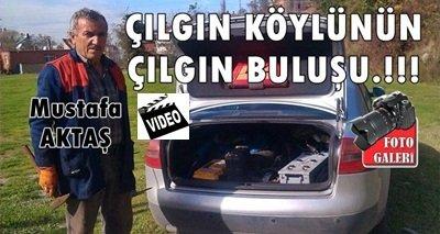 Türkali'de Mustafa Aktaş'ın İlginç Buluşu (Görüntülü)