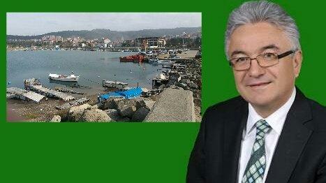 Turpçu kapanan Filyos balıkçı barınağını meclise taşıyacak