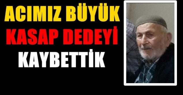 Türkali'de (Kasap Dede) İsmail Çevik Vefat Etti