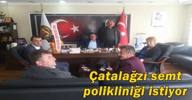 MHP'den Başkan Akgün'e ziyaret…