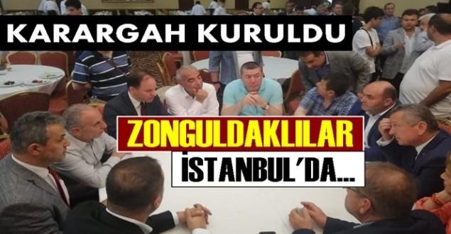 Zonguldaklı CHP'liler İstanbul'da karargah kurdu