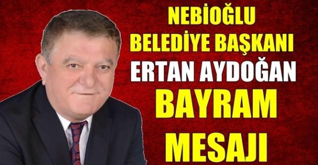 Aydoğan'dan Kurban Bayramı mesajı…