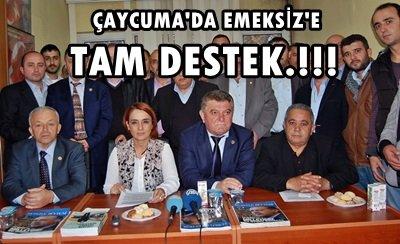 Partililerden Başkan Av. Vedat Emeksiz'e Destek! (Görüntülü)