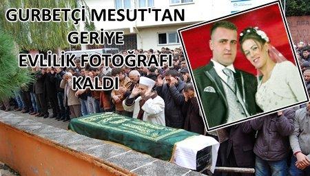 İstanbul'a Çalışmaya Gitti, Köyüne Cenazesi Geldi.! (Görüntülü)