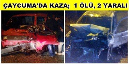 Ölümlü Kazada Sürücü Kayıplara Karıştı (Görüntülü)