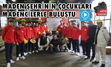 Zonguldakspor Madencilerle Buluştu.!
