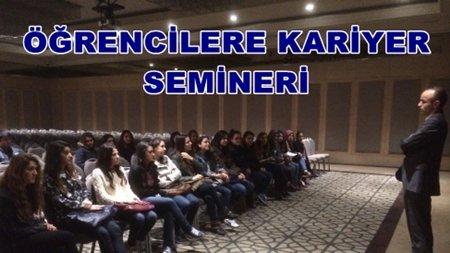 Gökçebey MYO'ya Zonguldak'ta Kariyer Semineri Verildi