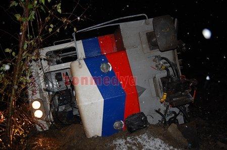 Kayadibinde Meydana Gelen Tren Kazasından İlk Fotoğraflar (Görüntülü)