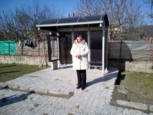 SALTUKOVA BELEDİYESİ'NDEN YOLCU BEKLEME DURAĞI