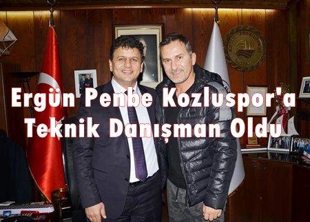 ERGÜN PENBE KOZLU BELEDİYESPOR'DA