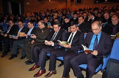 """""""ÇAYCUMA OKUYOR"""" PROJESİ TANITILDI"""