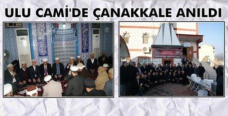 Şehitler Yenimahalle Ulu Camii'de Anıldı