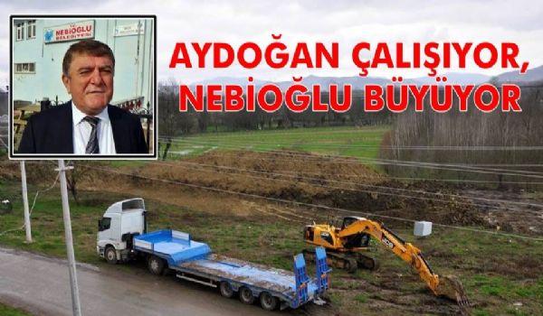 """Aydoğan; """"Beldemiz Gelişiyor, Büyüyor"""""""