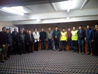 Saltukova'da Kepçe Operatörlüğü Kursu Sona erdi