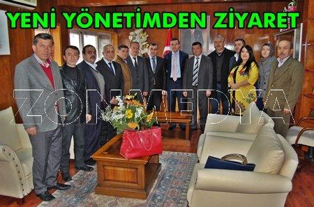 Ak Parti'den Kaymakam Keçeli'ye Ziyaret