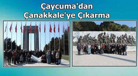 Şehit ve Gazi Yakınları Çanakkale'de