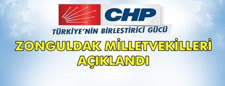 İşte CHP Zonguldak Milletvekilleri