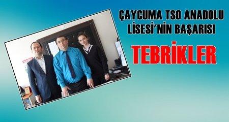 Çaycuma TSO Anadolu Lisesi'nin Başarısı