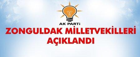 İşte Ak Parti'nin Milletvekili Adayları