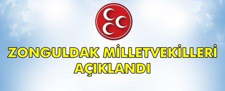 İşte MHP'nin Milletvekili Adayları