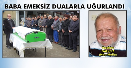 Hacı Molla'ya Son Görev (Görüntülü)