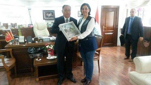 Başkan Güneş Yalova ve Nilüfer Belediye Başkanlarını Ziyaret Etti