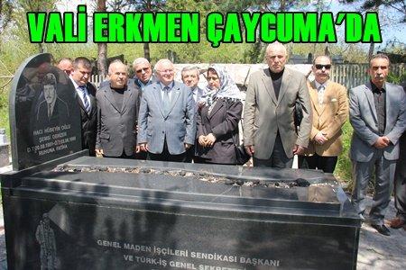 MHP'nin Adayı Vali Erkmen'den Çaycuma Ziyareti (Görüntülü)