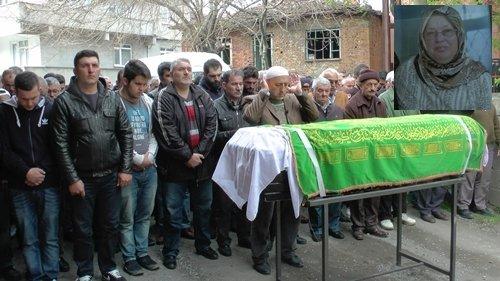 Türkali'de Durkadın Kılıç Ablaya son görev (Görüntülü)
