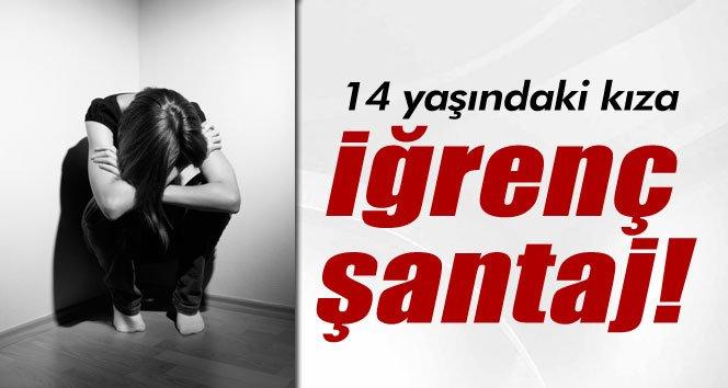 Zonguldak'ta 14 yaşındaki kıza iğrenç şantaj