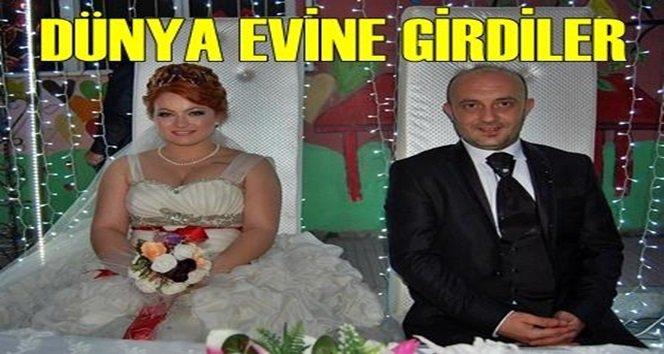Türkali'de Gözde ve Uğurun mutlu günü