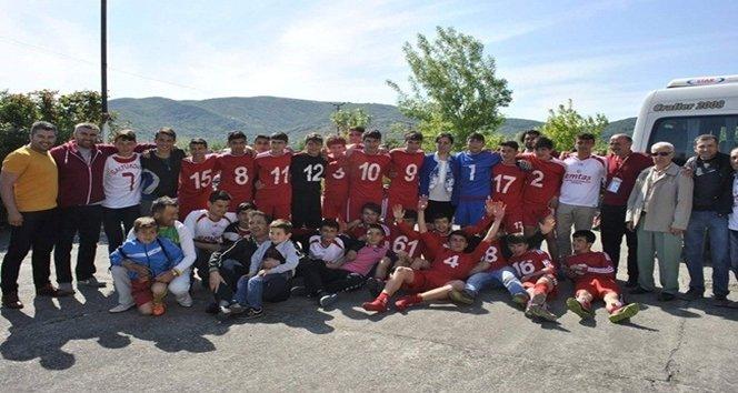 SALTUKOVASPOR-U19 FUTBOL TAKIMI ?AMP?YON OLDU