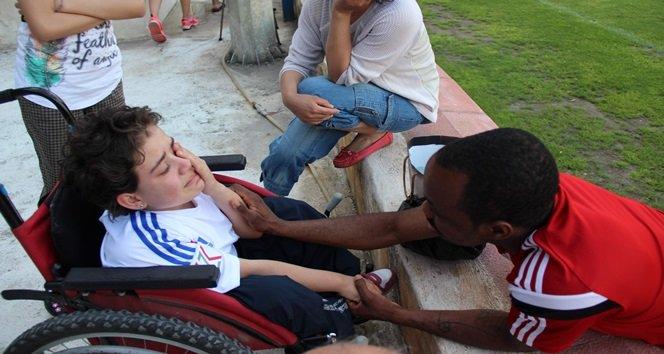 Engelli Taraftarın Gözyaşları