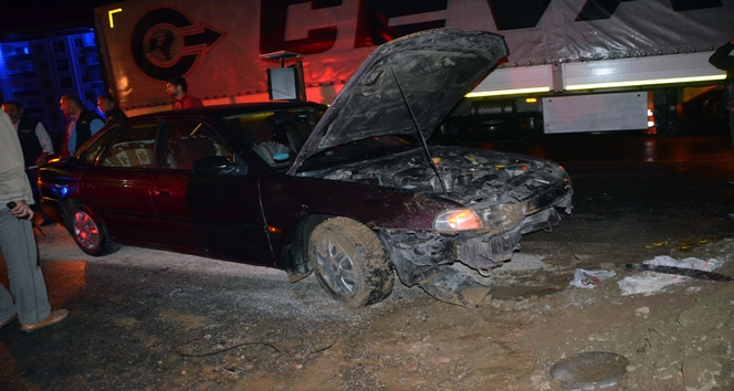 Kastamonu'da trafik kazası