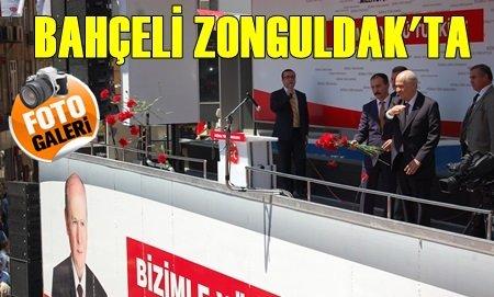 MHP Genel Başkanı Bahçeli Zonguldak'ta