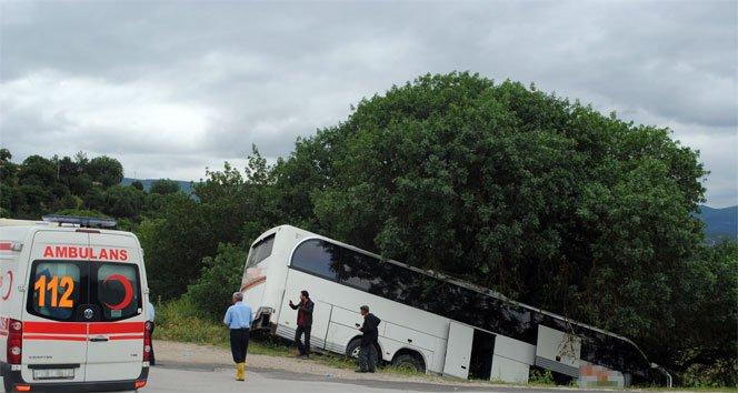 Bir garip kaza: 40 kadın yaralı