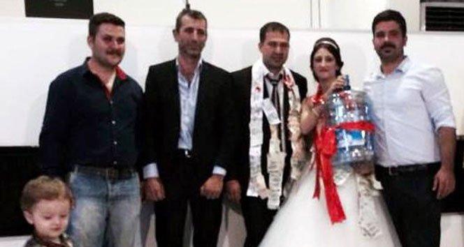 Düğünde Şaşırtan Takı