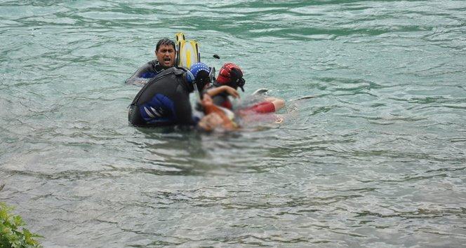 Yüzmek için girdiği barajda boğuldu