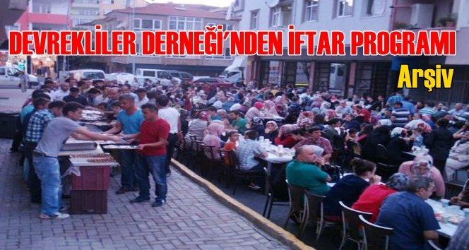 İstanbul'da Devrekliler Derneği'nden İftar