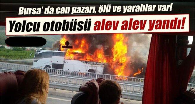 TIR yolcu otobüsüne çarptı: 1 ölü, 26 yaralı