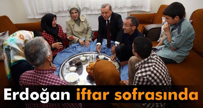Erdoğan'dan sürpriz iftar ziyareti