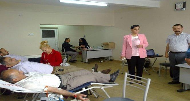Saltukova'da kan bağışı kampanyası