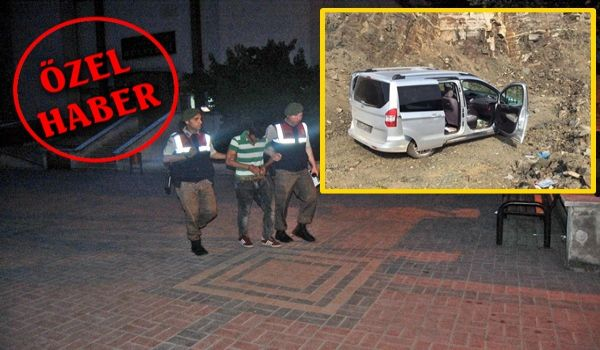Tokat İlinden çaldığı araç ile Çaycuma'da yakalandı (Görüntülü)
