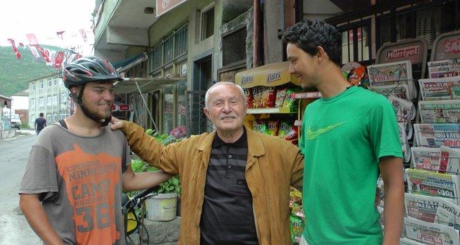 Alman Turistler Türkali'de (Görüntülü)