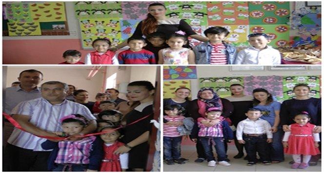 Türkali ilkokulunda Anasınıfı öğrencilerinden yılsonu sergisi (Görüntülü)