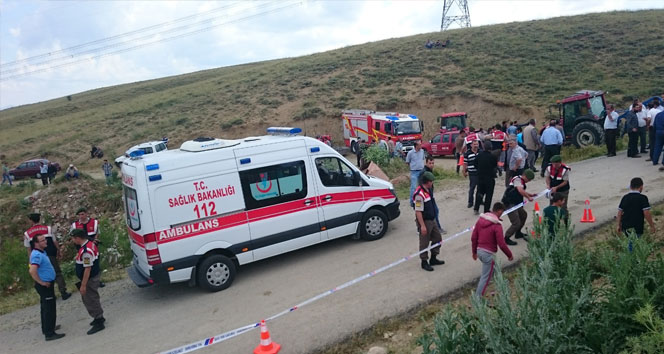 Yolcu Taşıyan Otobüs devrildi:2 ölü 27 yaralı