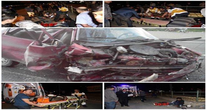 İki ayrı kazada 3 kişi öldü 5 kişi yaralandı