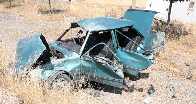 Otomobil takla attı: 11 yaşındaki çocuk öldü