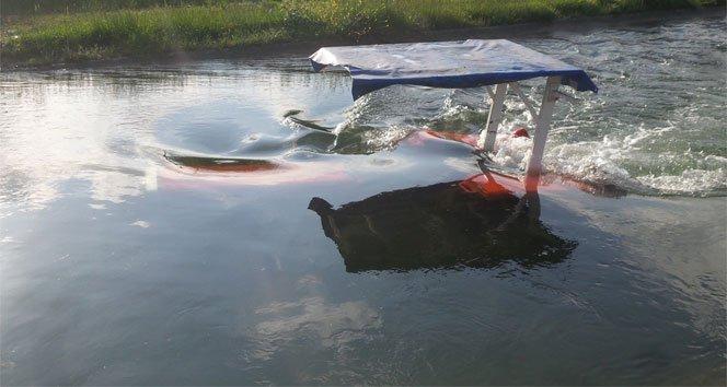Traktör kanala düştü, sürücü boğularak öldü