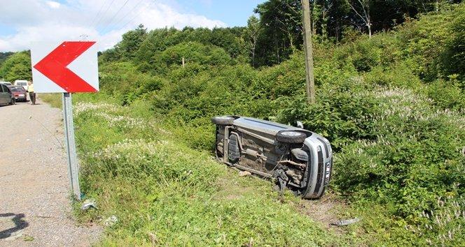Zonguldak'ta zincirleme kaza: 4 yaralı