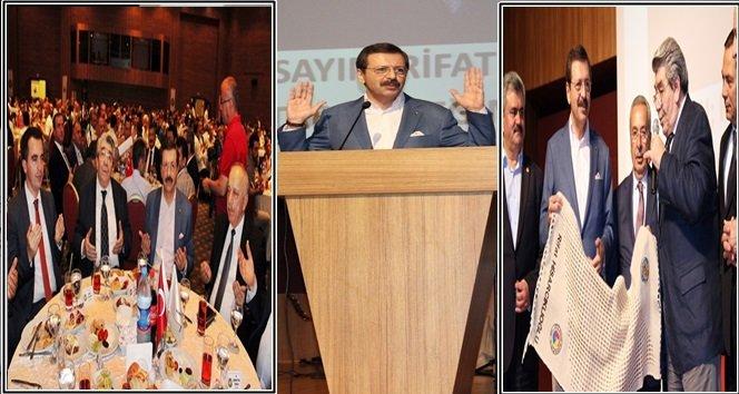 TOBB Başkanı  Hisarcıklıoğlu Ereğli'ye Gelerek İftar Programına Katıldı